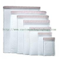 China White Poly Bubble Mailers , Self Adhesive Poly Mailers Envelopes Bags PE Material on sale