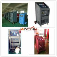Quality 97% Recovery Rate A/C Refrigerant Recycling Machine with Refill New Oil , Refrigerant Recovery Equipment for sale