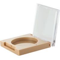 Quality JL-EC205 Square Cheek Blusher ISO9001 Empty Face Powder Container for sale