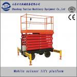Quality mobile hydraulic scissor lift platform for paint for sale