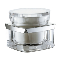 Quality JL-JR811 PP inner 30g 50g Acrylic Jars For Cosmetics for sale