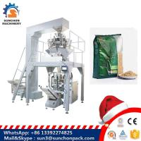 Quality Hig Speed Grain / Granule Automated Packing Machine With Multi head Weigher for oatmeal / cornmeal for sale