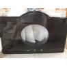 Buy cheap Quartz Pure Black Vanity Top , Hotel Prefabricated Bathroom Vanity Tops from wholesalers