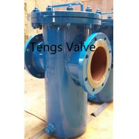 Quality Fabricated Basket Strainer, Carbon Steel, Welded Body Flanged Industrial Simplex Basket Strainers for sale