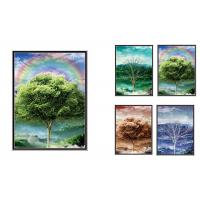 Quality Natural Scener And Animal Style Flip 3D Lenticular Pictures 30*40cm For Home Decro for sale