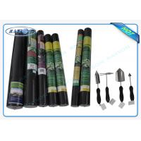 Quality 100% PP Raw Non Woven Landscape Fabric Protect Plant / Garden / Fruit / Weed Control for sale