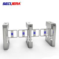 Quality Professional Face Recognition Security System Flap Turnstile Barrier Gate made in China for sale