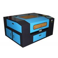 Quality 50W mini laser cutting machine with motorized Z-axis / rotary attachment for sale