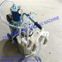 Buy For EU market,Piston Typed Single Bucket Mobile Milking Machine,small portable milking machine for cow and sheep at wholesale prices