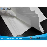 China Inkjet Ceramic White Medical Imaging Film Microporous Coating Anti - Aging on sale
