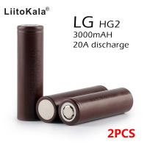 Quality Genuine LG HG2 18650 3000mAh High Power Original Battery Authentic for sale