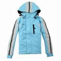 Quality Hooded children's ski jacket, waterproof and breathable fabric, waterproof zipper for sale