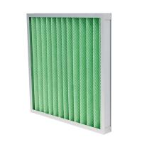 Quality G4 Panel Pre Air Filter Low Primary Resistance Cover Both Sides With Metal Mesh for sale
