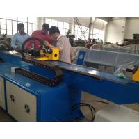 Quality Automatic Touch Screen CNC Pipe Bending Machine high strength for tower structure for sale