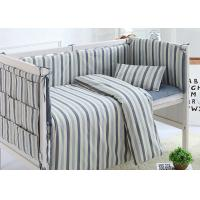 Quality Cuddle Bed Reducer Baby Crib Bedding Sets Durable Design 100% Cotton for sale