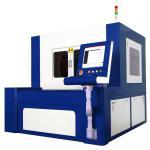 Quality 380V 50 / 60Hz Fiber Laser Cutting Machine For High Precise Metal Parts for sale