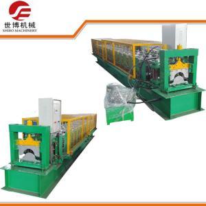 China PLC Control Steel Stud Roll Forming MachineFor Making Aluminum Metal Ridge Cap on sale