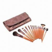 Quality Promotional Makeup Kit with Wooden Handle for sale