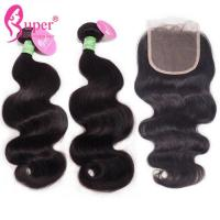 Quality Body Wave Brazilian Virgin Hair Bundles Extensions For Women Accessories for sale