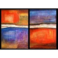 Quality abstract painting wall art decor frame picture for sale