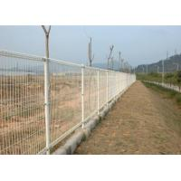 Quality Double Loop Chicken Wire Fence Panels Powder Coated  Low Carbon Steel High Strength for sale