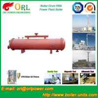 Quality 300 ton ionic boiler mud drum ORL Power for sale