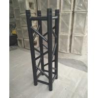Buy Indoor Stage Lighting Truss , 4 Sides Brace Tube 290 * 290mm Black Aluminum at wholesale prices