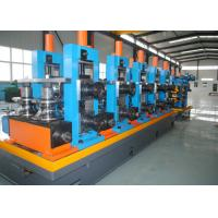 Quality Steel ERW Straight Seam Pipe Production Line / Welded Tube Mill for sale