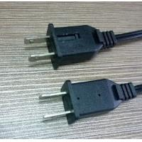 Quality UL approved 2-pin polar plug with fuse nema 1-15P SPT-1/SPT-2 power cord plug for sale