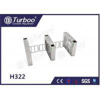Quality Access Control Pedestrian Barrier Gate With Voice And Strobe Light Alerts for sale