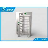 Quality Rotating Entrance Gate TCP / IP Communication , Military Area Turnstile Security Doors for sale
