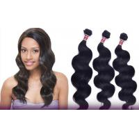 Quality Shedding Free One Donor Peruvian Remy Human Hair No Mixtures Double Weaving Hair for sale