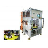 Quality Vertical Type Stator Automatic Coil Winding Machine With Double Heads for sale