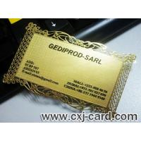 Buy cheap Metal Business Card from wholesalers