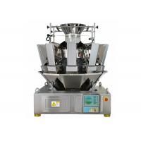Quality 1.6L Hopper 10 Heads Multihead Weighers , 65 Bags / Min Automatic Weigher for sale