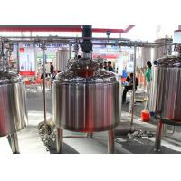 Buy Micro Automatic Commercial Beer Brewing Equipment Mirror Polish Inner Surface at wholesale prices