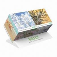 Quality Promotional Duo Cube Calendar Monthly, Cube Measures 5x5x5cm for sale