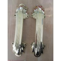 Quality European Style Plastic Coffin Handles Golden / Silver Or Copper Color for sale