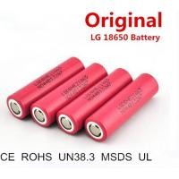 Quality LG HE2 authentic hot stock for electronnic scooter environmental botttom price 2500mAh 18650 li ion battery for sale