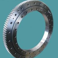 Quality slewing ring bearingsSingle row four point contact ball slewing bearing external gear for sale