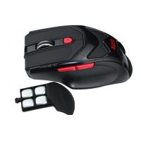 Buy Black High DIP wireless laser gaming mouse with red led , PC gaming mice at wholesale prices