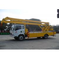 Quality SINOTRUK HOWO 120kw/Hp Platform Lift Truck ,  Telescopic Lift Truck 6 WHEELS for sale