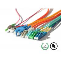 Buy LC / SC / FC Connector Fiber Optic Patch Cord Corning G657A1 OFNR at wholesale prices