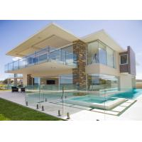 Quality Outdoor Tempered Glass Railing Design Glass Buttom Balustrade For Deck for sale