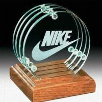 Quality Glass Coasters with Customized Logo, (Cork Coasters Also Available) for sale