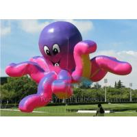 Quality 0.18mm Octopus Inflatables Giant Advertising Balloons For Outdoor Tradeshow for sale