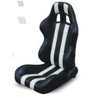 Quality High performance universal sport car seats / black and white bucket seats for sale