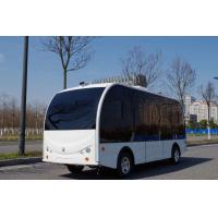 Quality Self Driving Bus / Solar Powered Electric Vehicle AGV 8 Seater With EPS Braking System for sale