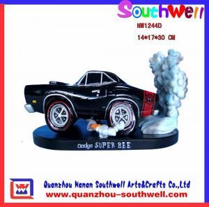 Quality polyresin car figurine for sale