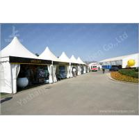 Quality Outside Show Activities High Peak Tension Tents With 850Gsm Top Cover Fabric Cover for sale